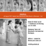 Kinder Aikido Hannover Kyushindo Aikikids