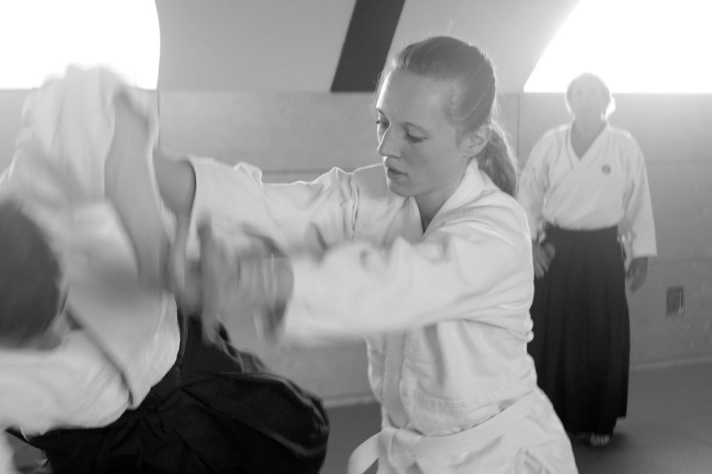 Jean-Pierre Fillault bei Aikido-Hannover Kyushindo