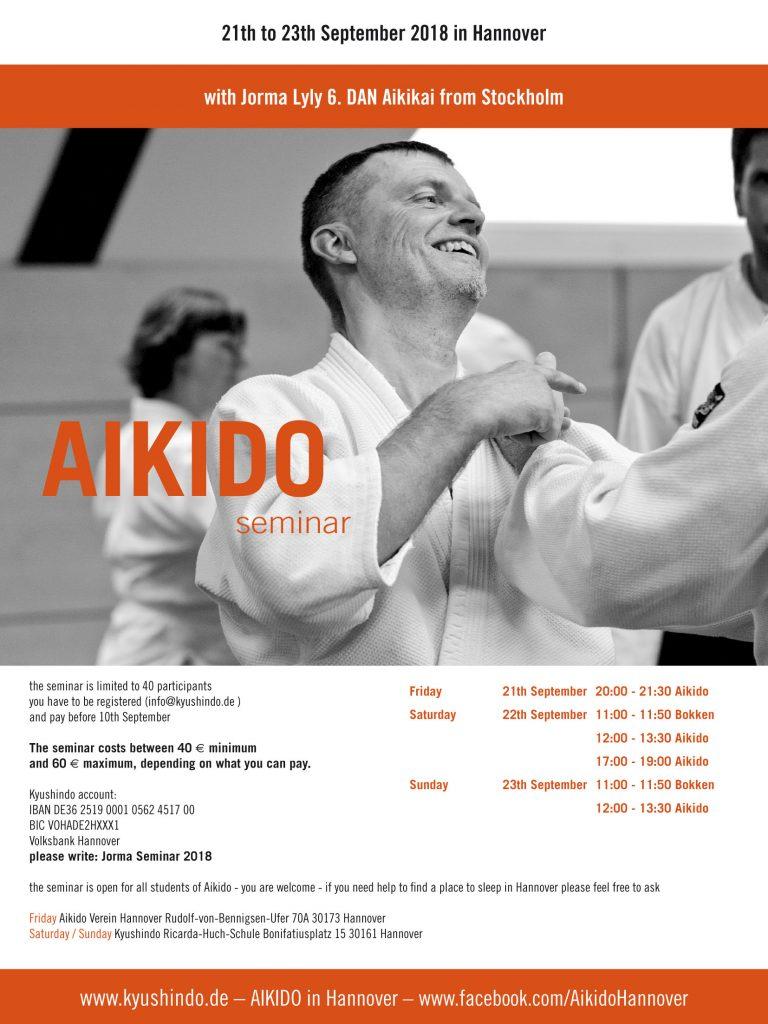 Hannover, Aikido, Lehrgang 2018