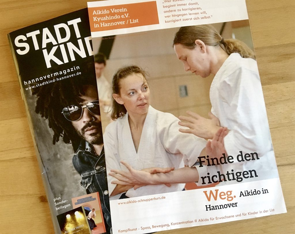 Aikido, Kampfkunst, Hannover, Kyushindo, Interview, Stadtkind, List, Kinder